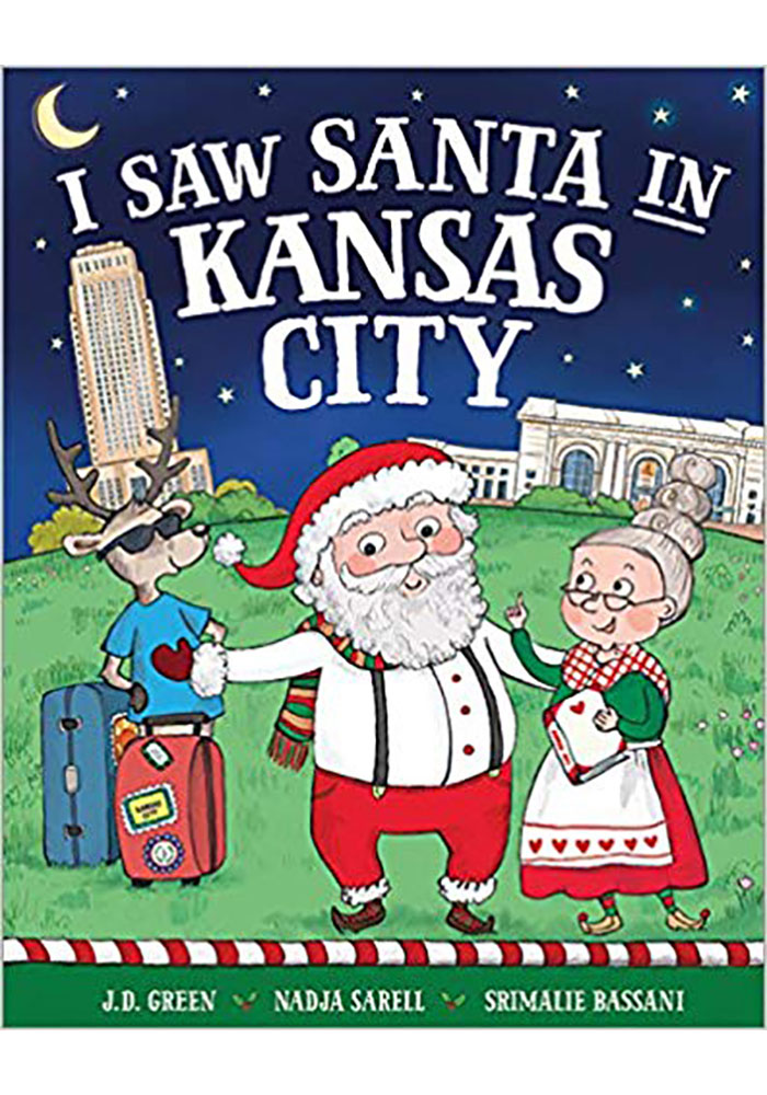 I saw Santa In Kansas City Children's Book - Image 1