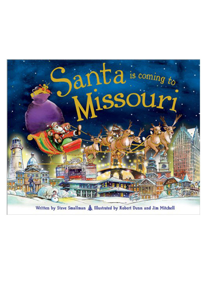 Missouri Santa is Coming Children's Book - Image 1