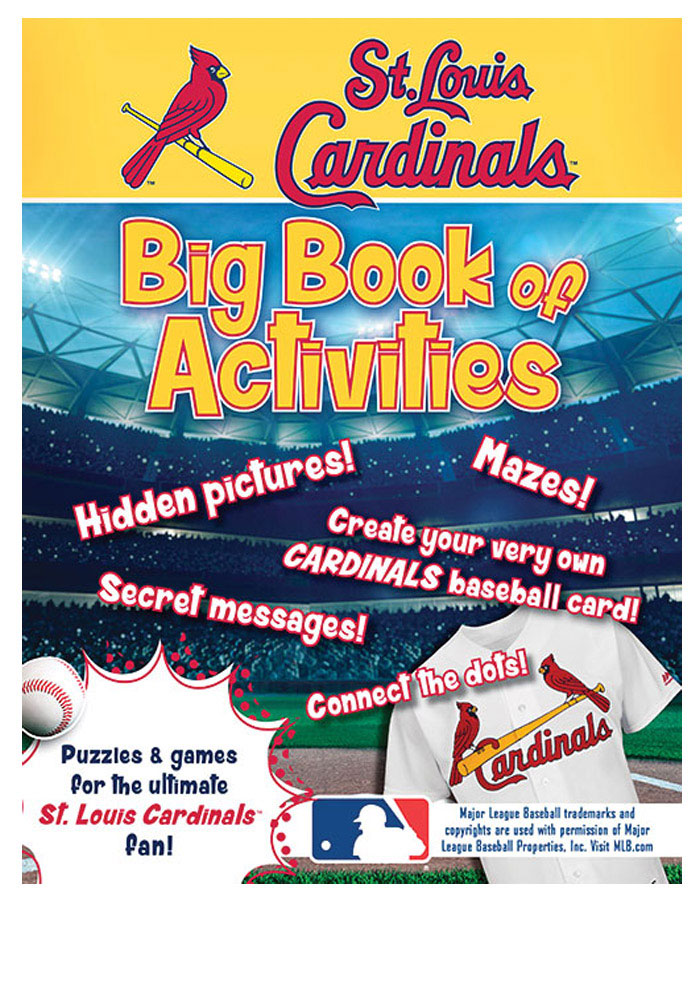 St Louis Cardinals Official Activity Book - Image 1