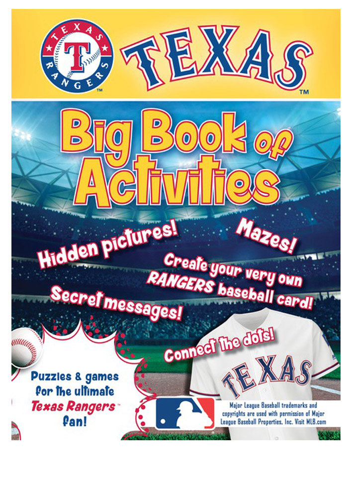 Texas Rangers Official Activity Book - Image 1