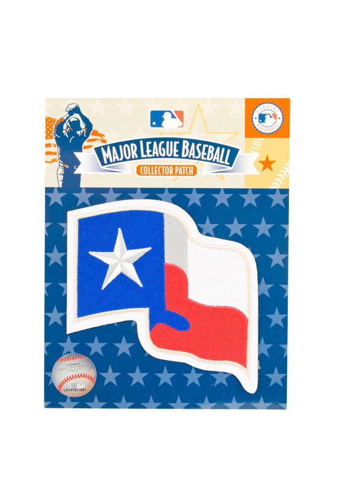 Texas Rangers State Flag Patch - Image 1