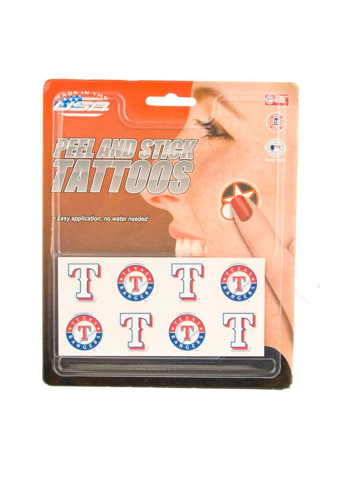 Texas Rangers 8 Pack Tattoo - Image 1