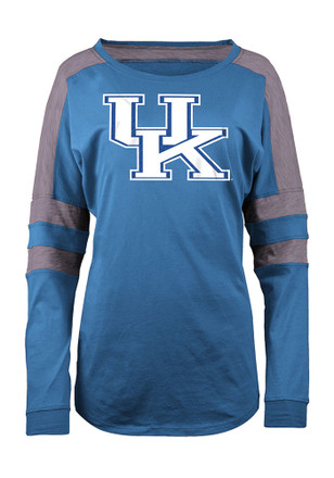 Kentucky Womens Athletic Blue LS Tee