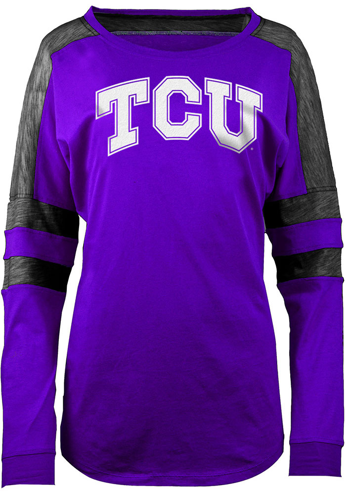 Horned Frogs Womens Athletic Purple LS Tee 88880760