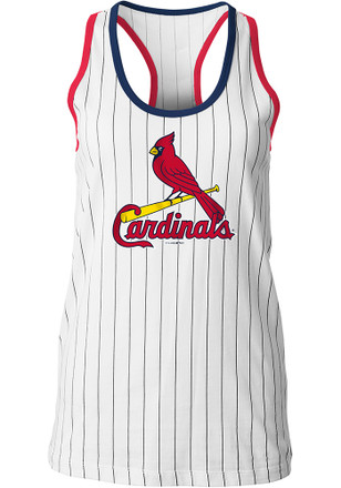 St Louis Cardinals Womens White Opening Night Tank Top