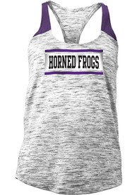 TCU Horned Frogs Juniors Purple Space Dye Tank Top