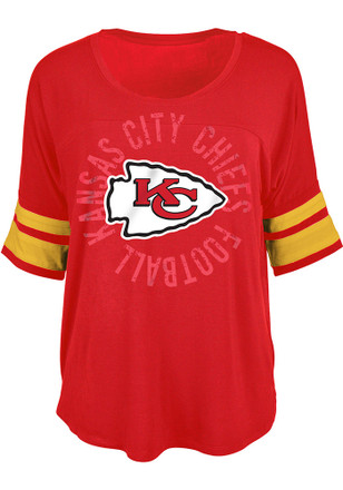 Kansas City Chiefs Womens Red Novelty Scoop
