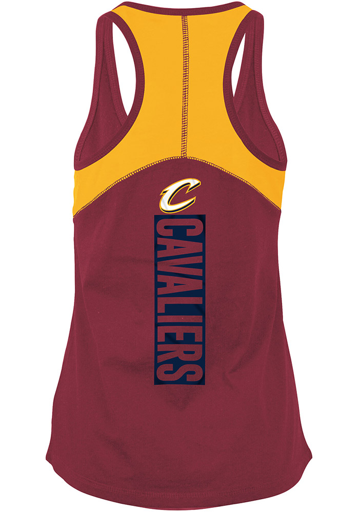 Cleveland Cavaliers Womens Red Training Camp Tank Top - Image 1