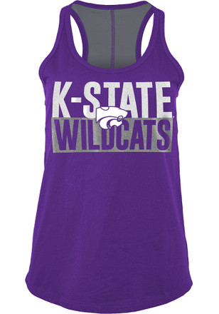 K-State Wildcats Womens Purple Training Camp Tank Top