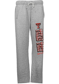 Texas Tech Red Raiders Womens Grey Sweatpants