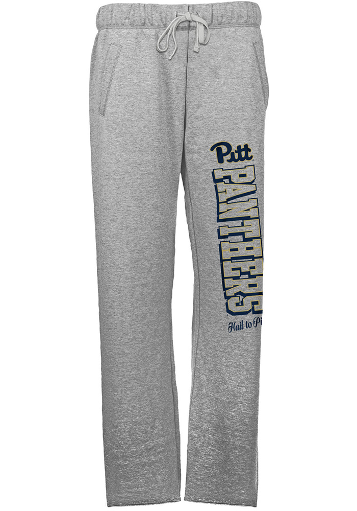 Pitt Panthers Womens Grey Sweatpants 14dcc88c3