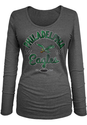 031d3eab2 Shop Philadelphia Eagles Womens Long Sleeve T-Shirts Apparel