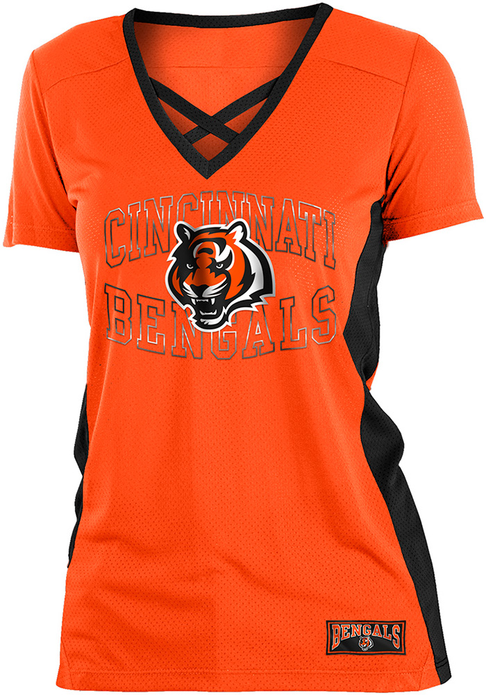 Cincinnati Bengals Womens Training Camp Fashion Football Jersey - Orange - Image 1
