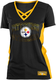 Pittsburgh Steelers Womens Black Training Camp T-Shirt