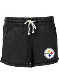 efc8700e Pittsburgh Steelers Womens Grey Rally Shorts