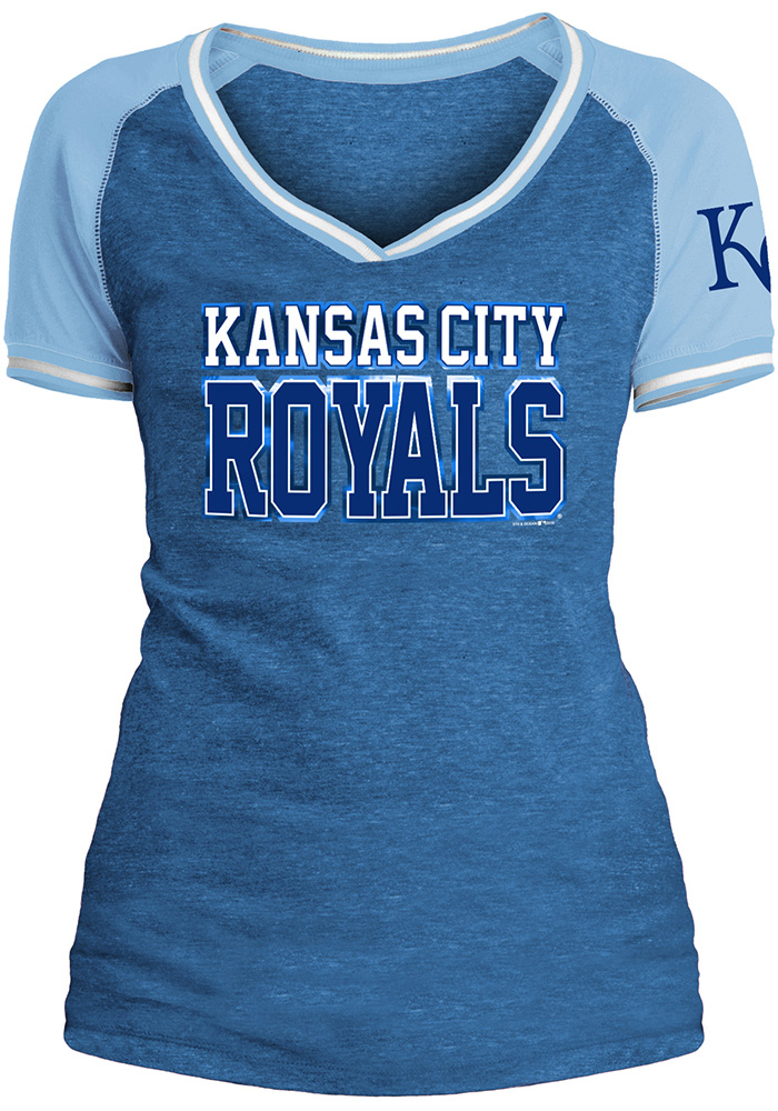 Mike Moustakas Kansas City Royals Womens Blue Opening Night Player Tee
