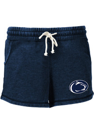 Penn State Nittany Lions Womens Rally Shorts - Navy Blue