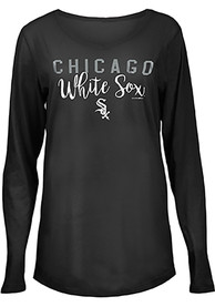 Chicago White Sox Womens Timeless Taylor T-Shirt - Black