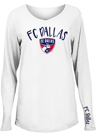 FC Dallas Womens Timeless Dana T-Shirt - White