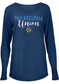 Philadelphia Union Womens Timeless Taylor T-Shirt - Navy Blue