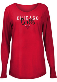 Chicago Bulls Womens Timeless Taylor T-Shirt - Red