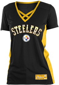 4ceae4ea Pittsburgh Steelers Womens Training Camp Fashion Football Jersey - Black