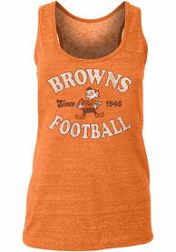 Cleveland Browns Womens Historic Mark Tank Top -