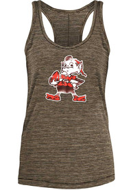 Cleveland Browns Womens Brown Space Dye Tank Top