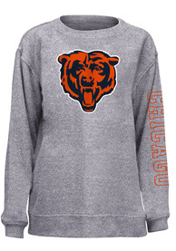 Chicago Bears Womens Cozy Crew Sweatshirt - Grey
