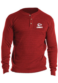 Kansas City Chiefs Thermal T Shirt - Red