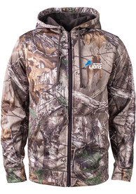Detroit Lions Realtree The Trophy Zip - Green