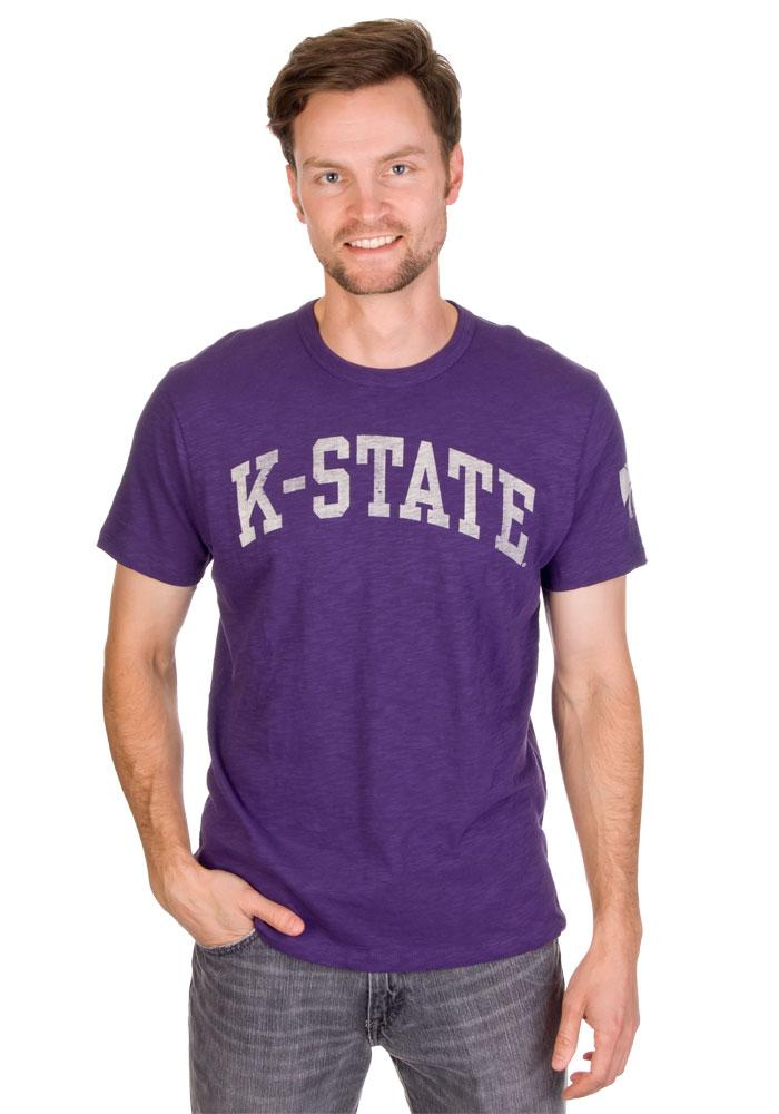 '47 K-State Wildcats Mens Purple Arch Short Sleeve Fashion T Shirt - Image 1