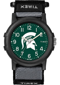 Michigan State Spartans Youth Timex Recruit Watch - Black