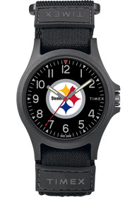 Pittsburgh Steelers Timex Pride Watch - Black