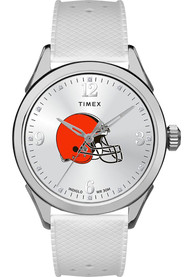 Cleveland Browns Womens Timex Athena Watch - White