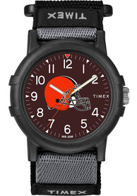 Cleveland Browns Youth Timex Recruit Watch - Black