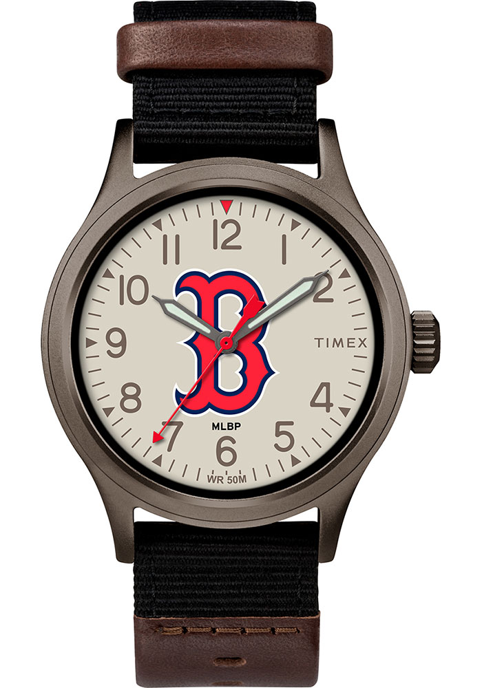 Timex Boston Red Sox Clutch Mens Watch - Image 1