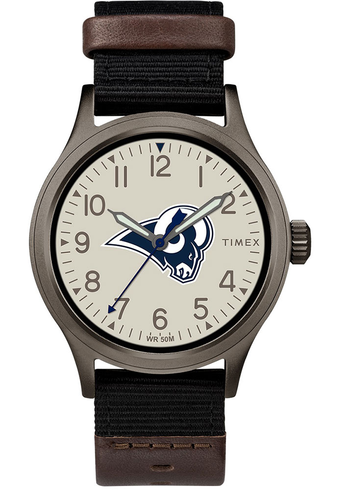Timex Los Angeles Rams Clutch Mens Watch - Image 1
