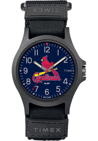 St Louis Cardinals Timex Pride Watch - Black