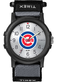 Chicago Cubs Youth Timex Recruit Youth Watch - Black