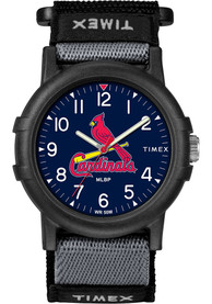 St Louis Cardinals Youth Timex Recruit Youth Watch - Black