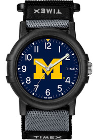 Michigan Wolverines Youth Timex Recruit Youth Watch - Black