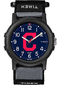 Cleveland Indians Youth Timex Recruit Youth Watch - Black