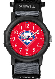Philadelphia Phillies Youth Timex Recruit Youth Watch - Black