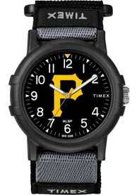 Pittsburgh Pirates Youth Timex Recruit Youth Watch - Black