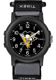 Pittsburgh Penguins Youth Timex Recruit Youth Watch - Black