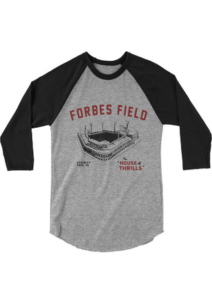 Pittsburgh Local Stuff Shop Mens Grey Forbes Fashion Tee