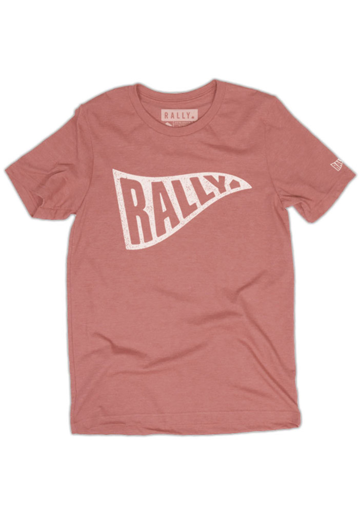 Rally Pink Pennant Short Sleeve T Shirt