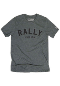 Rally Chicago Grey Arch Short Sleeve T Shirt
