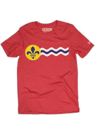 RALLY St. Louis Flag Short Sleeve T-Shirt